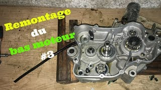 Gas Gas EC 125 - Remontage bas moteur #3 (changement roulements, joints spy vilebrequin et piston)