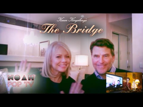 Faith Ford and Ted McGinley interview | The Bridge - Hallmark Channel Original Movie | NoahPOPTV