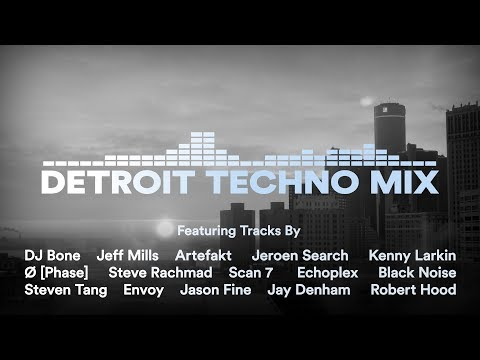 Detroit Techno Mix | With Tracklist | Vinyl Mix