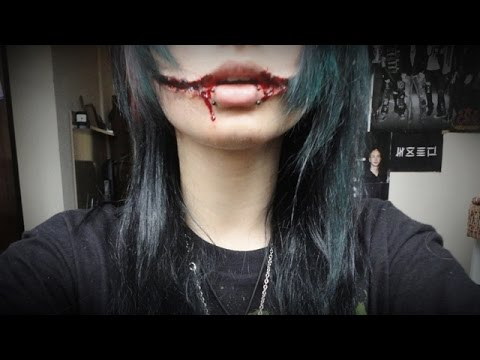 tutorial make up jeff the killer youtube