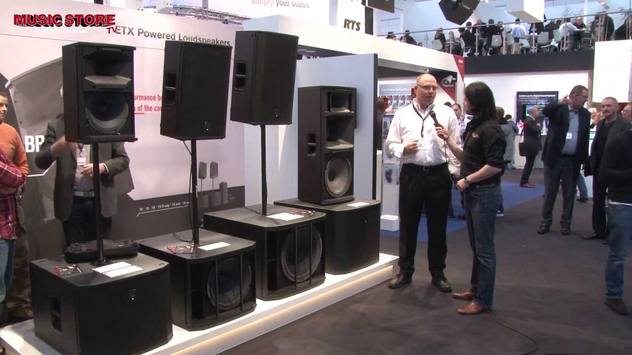 Musikmesse 2014 ELECTRO-VOICE ETX Series Powered PA ...
