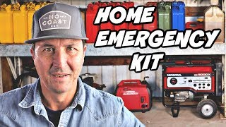 EMERGENCY Equipment For Your Home