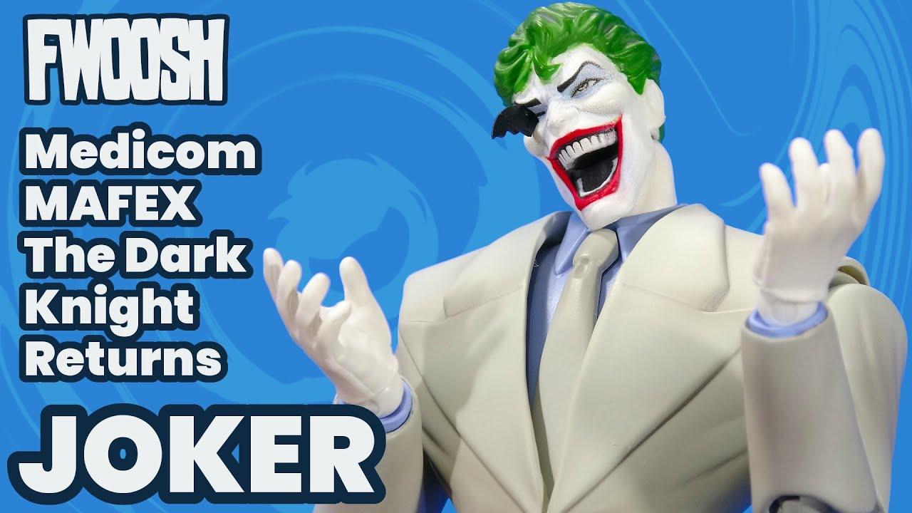 MAFEX JokerThe Dark Knight Returns DC Comics Batman Medicom Action Figure Review