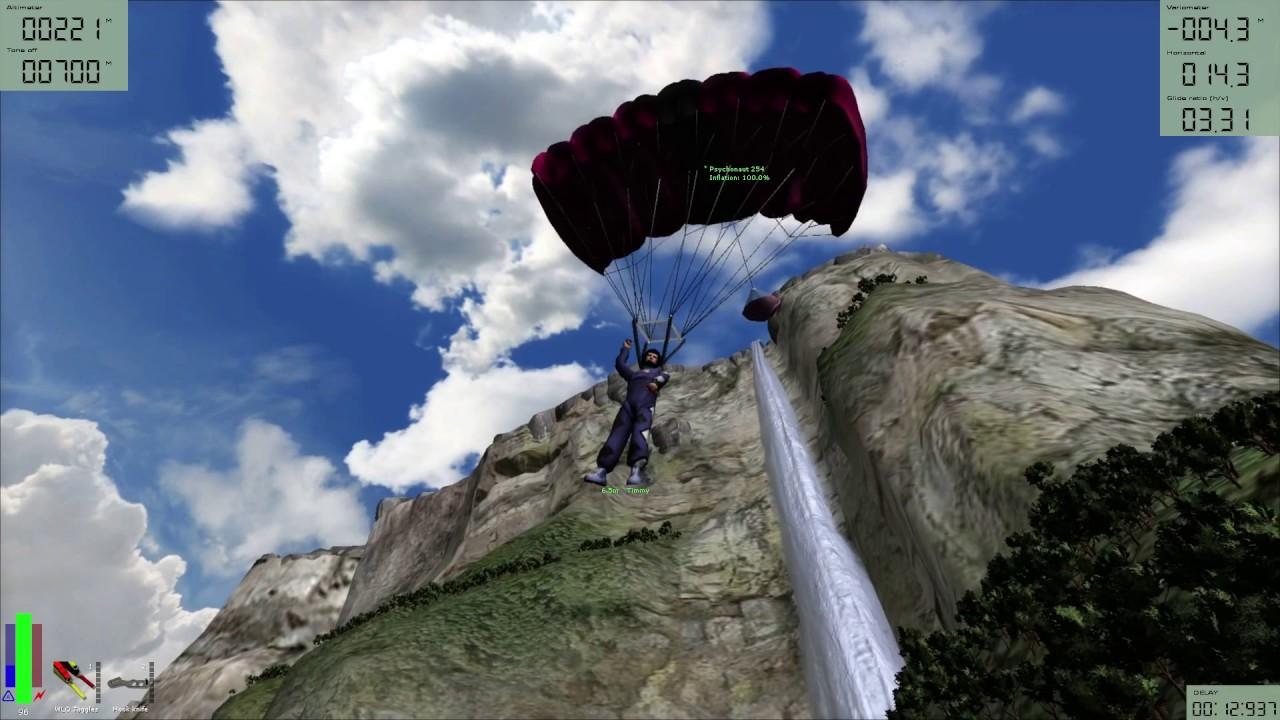 Angel Falls Wallpaper Base Jumping Angel Falls A Windy Day Youtube