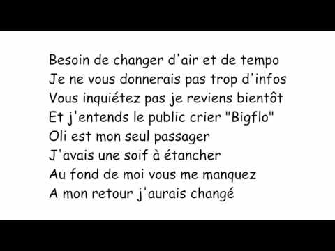Bigflo&Oli - A mon retour Paroles