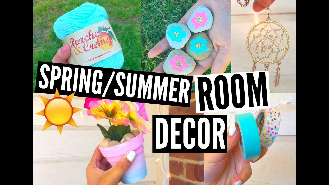 Diy spring summer room decor organization easy for Jenerationdiy room decor