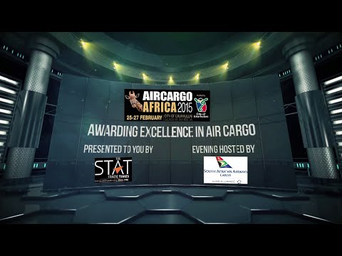 STAT Times International Award for Excellence in Air Cargo At Air Cargo Africa 2015
