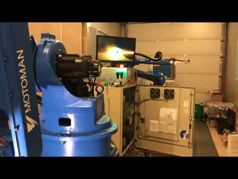 Motoman Yaskawa robotic laser welding stainless steel 1 2mm