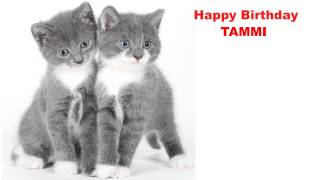 Tammi  Cats Gatos - Happy Birthday
