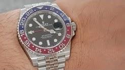 Rolex GMT Master Funktion Anleitung wie lese ich die GMT Zeitzonen?