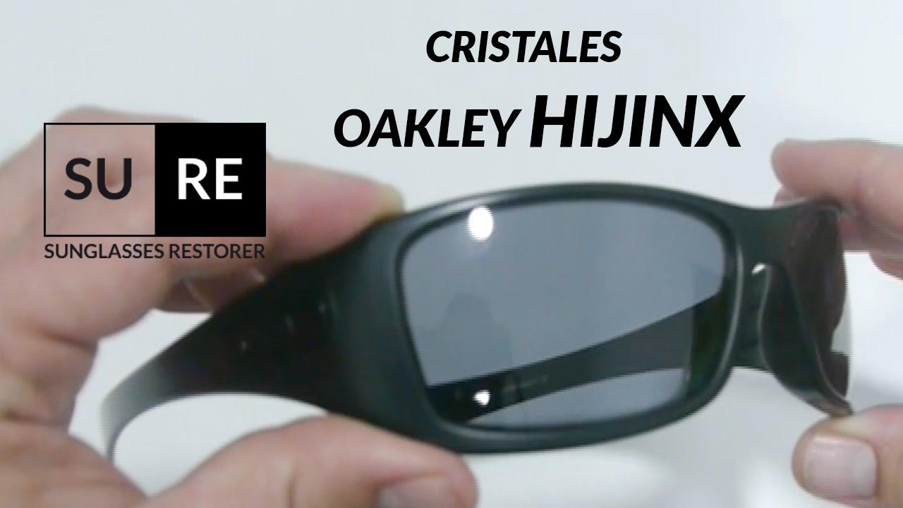 lentes recambio oakley hijinx