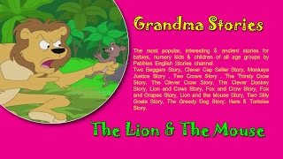 Sinha Ani Undir | Lion & Mouse | Chan Marathi Goshti | Grandma Marathi Stories For Kids HD