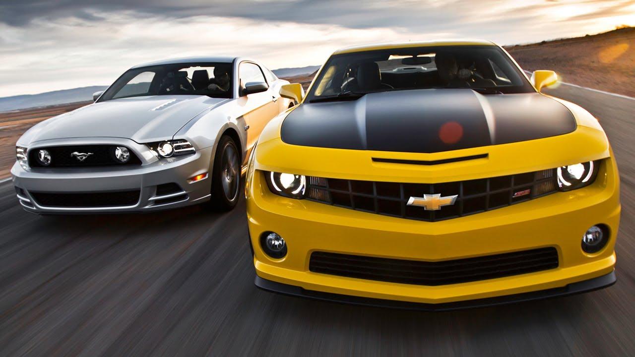Camaro Vs Mustang >> Camaro vs Mustang Reactions! Plus Autonomous Cars & LS Engine Swaps - Wide Open Throttle Episode ...