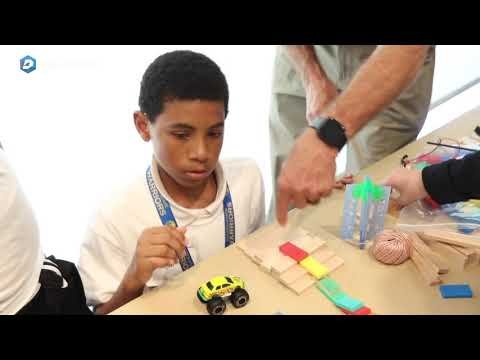 """DISD Students Compete in Engineering """"Chain Reaction Challenge"""""""