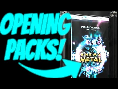 ENEMY METAL  – OPENING PACKS! NEW NFT ARCADE GAME, FLOW BLOCKCHAIN GAMES