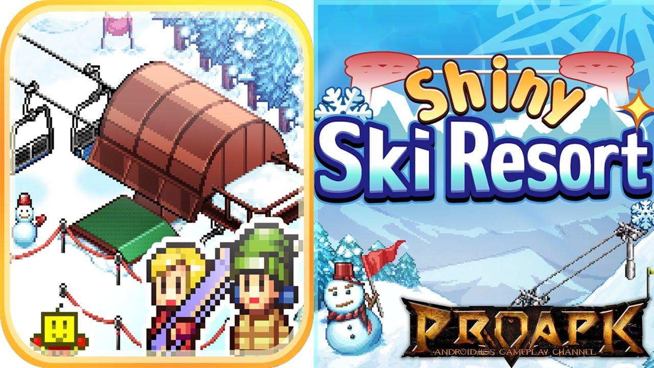 shiny ski resort gameplay android / ios - youtube