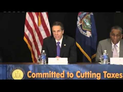 Governor Cuomo Launches Tax Relief Commission to Identify Ways to Reduce Tax Burdens