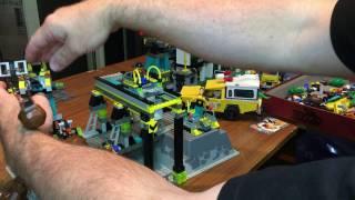 Lego Review on Vintage set 4990 Rock Raiders HQ.