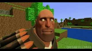 Repeat youtube video Gmod: Heavy's Epic Minecraft Adventure