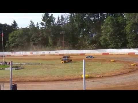 St. Helens River City Speedway 6-20-15 Sportsman Heat Race 1