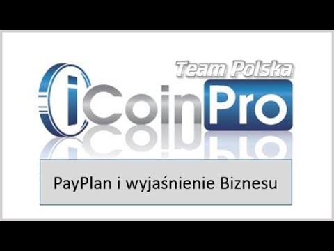 iCoinPro Polska - Pierwszy webinar wyjaśnienie payplanu i opis biznesu.