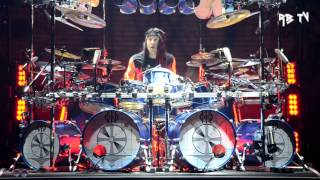 Dream Theater Mike Mangini drum solo Enigma Machine Live Rome 22.01.2014