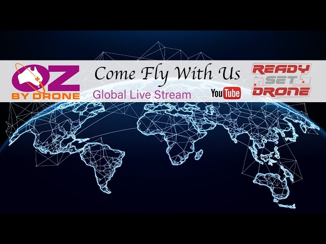 Global Fly In With Oz By Drone