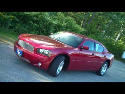 Best Price Used 2010 Dodge Charger SXT #C7467A Southern Maine Motors Saco Me Car Dealers