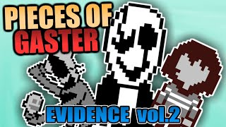 PIECES OF GASTER vol. 2 | AĮl Gaster Secrets Theories Evidence Explained in Undertale + Deltarune