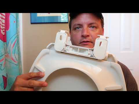 Installing New American Standard Toilet Seat