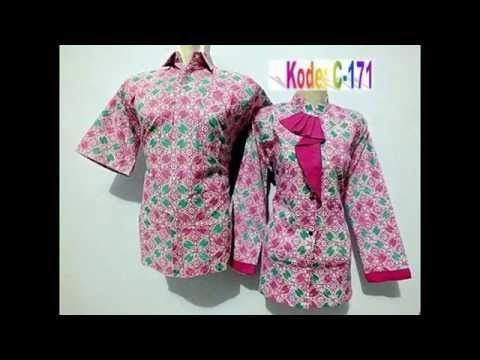 jual baju batik couple modern murah 1639858f0d