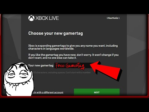How To Change Gamertag FREE To Anything You Want On Xbox One's New Free Change Gamertag System 2019
