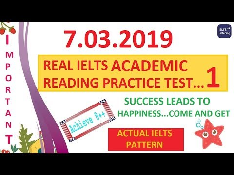 Ielts Reading Academic Practice Test With Answers Pdf