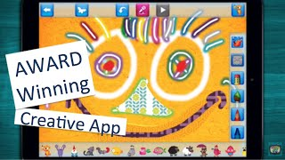 ✿ Draw and Tell HD - AWARD-winnng creative tool for children - iOS/Android