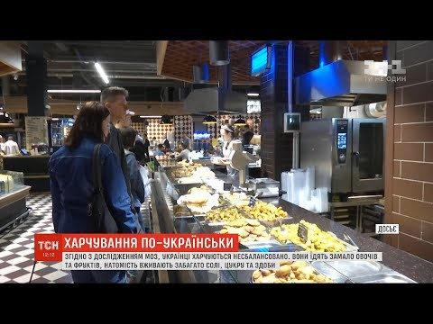 ТСН: Українці харчуються незбалансовано – дослідження Асоціації дієтологів