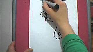Dibujando un conejo - Drawing a rabbit