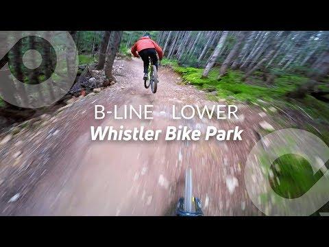B-LINE - LOWER, Whistler Bike Park, BC, Canada