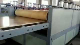 Export To Mexico--pvc Wood Foam Board Machine/ Wpc Skinning Foam Board Machine