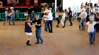 Two step JoseSilvia Cowboy boots festival 2018 (Nathan Carter - How Could I Love Her So Much )