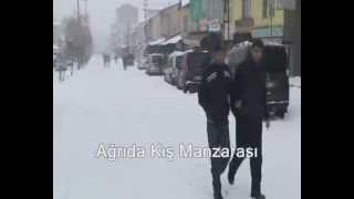 Ağrıda Kış Manzarası Klip