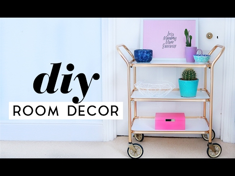 DIY Room Decor Projects For 2017 | Thrifted and Upcycled ...