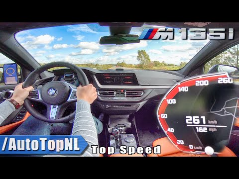 BMW 1 Series F40 M135i XDrive | TOP SPEED On AUTOBAHN By AutoTopNL