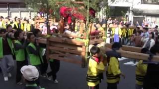 2016 間人けんか屋台祭り お稚児さん御旅