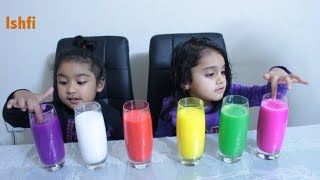 Learn Color with Colourful Water with Rufi Ishfi