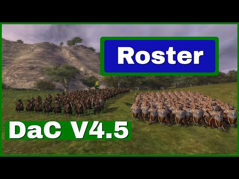 The Woodland Realm Roster - Unit Upgrade Visual Changes | Third Age Total War Divide & Conquer V4.5
