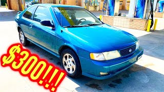 Copart $300 1995 Nissan 200SX Win!! Will it Drive Home??