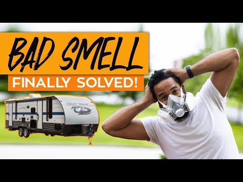 RV SMELLS BAD? HOW TO FIX RV BAD SMELL / BLACK TANK