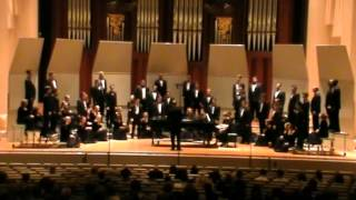 Baylor A Cappella Choir (Men) - Come Ye Disconsolate - Johnson