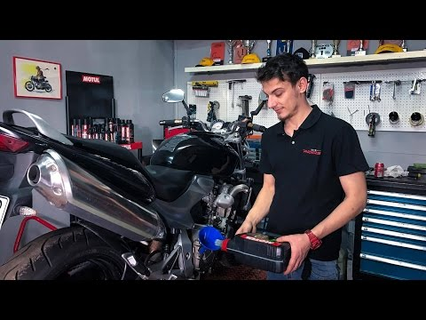 How to Change the Motorcycle Oil by Yourself