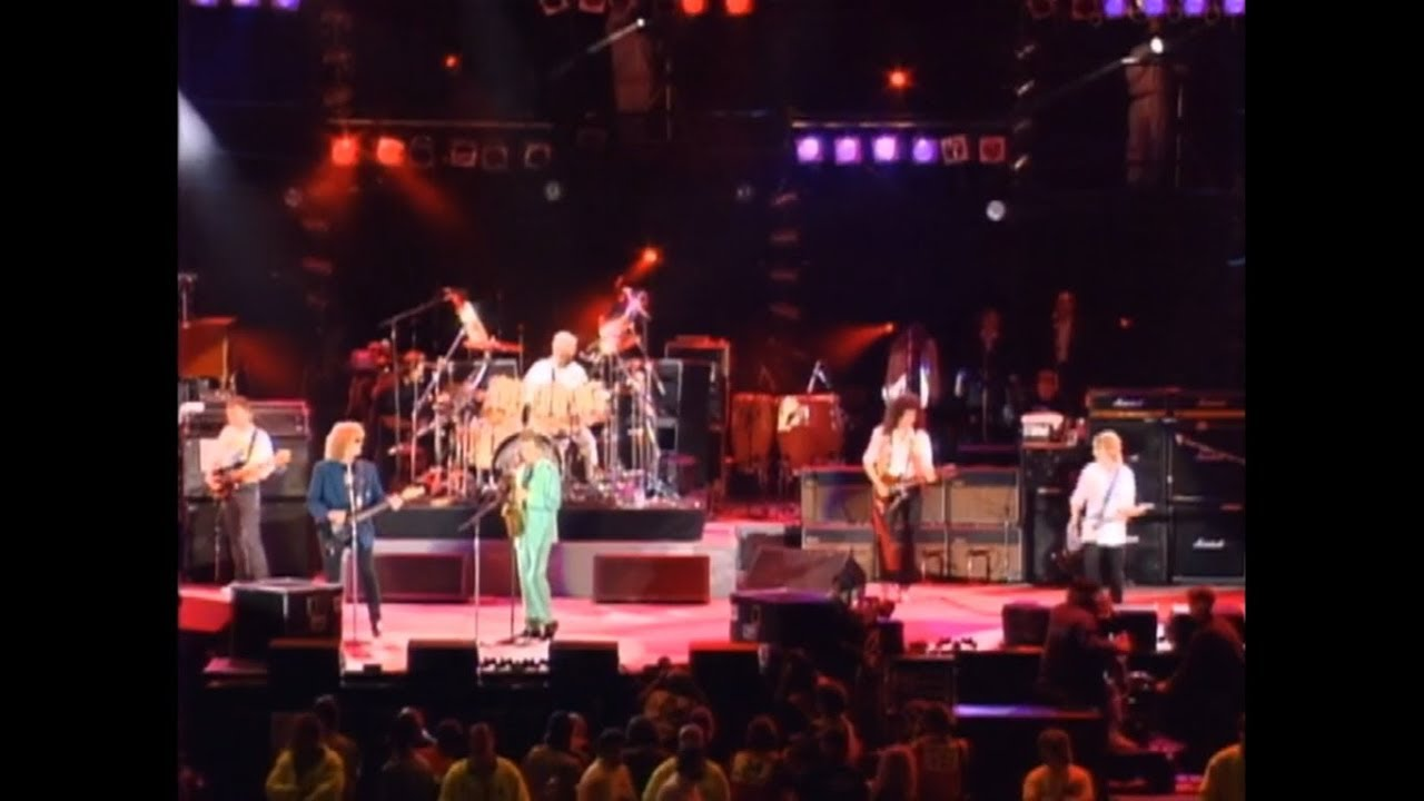 Queen + Ian Hunter, David Bowie & Mick Ronson - All The Young Dudes